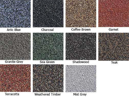 Decra Tile Colors